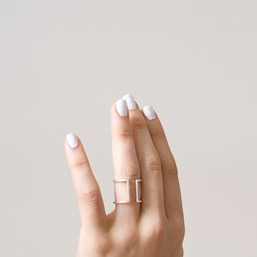 Square Ring, Gold