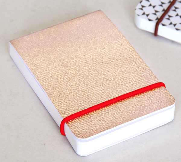 Rose Gold Non-Leather jotter