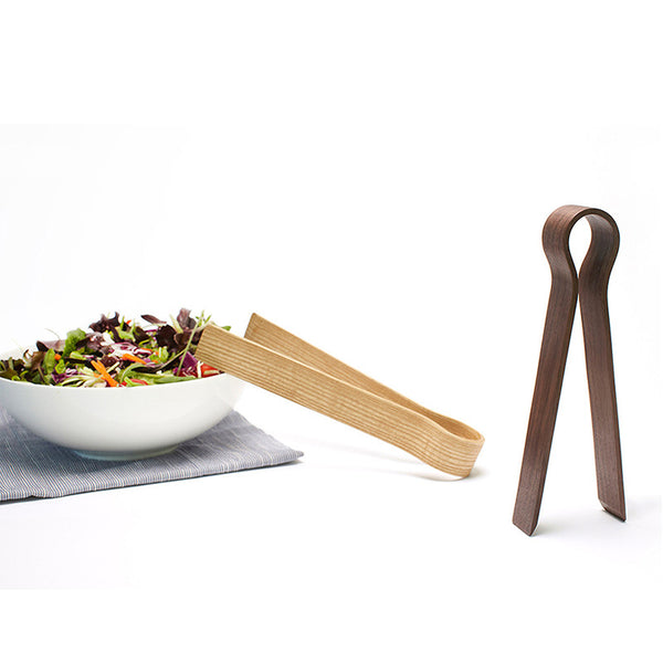 Walnut Tongs