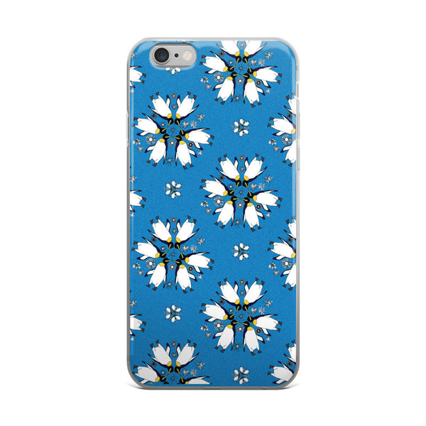 Penguin Flakes iPhone Case