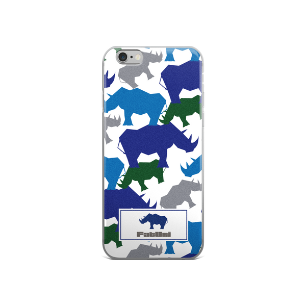 Rhino Dots FatUni iPhone Case
