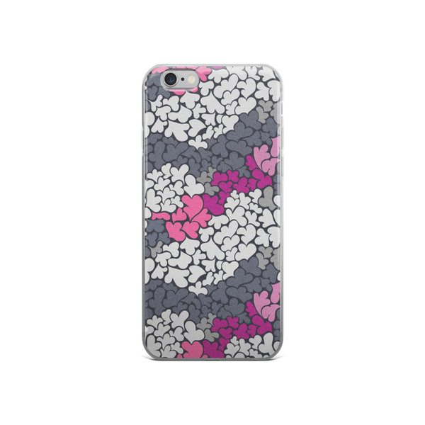 Triple Hearts iPhone Case