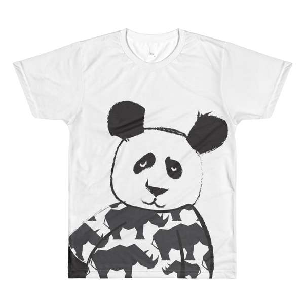 Panda men's crewneck t-shirt