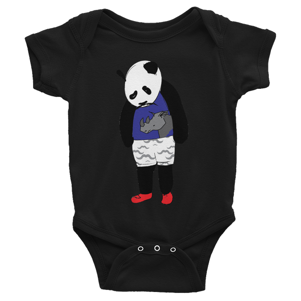 Sad Panda Infant Bodysuit