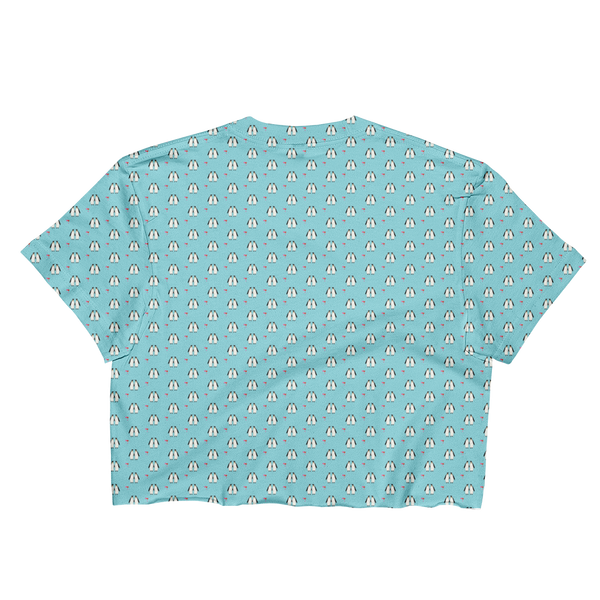 Penguins!! Ladies Crop Top