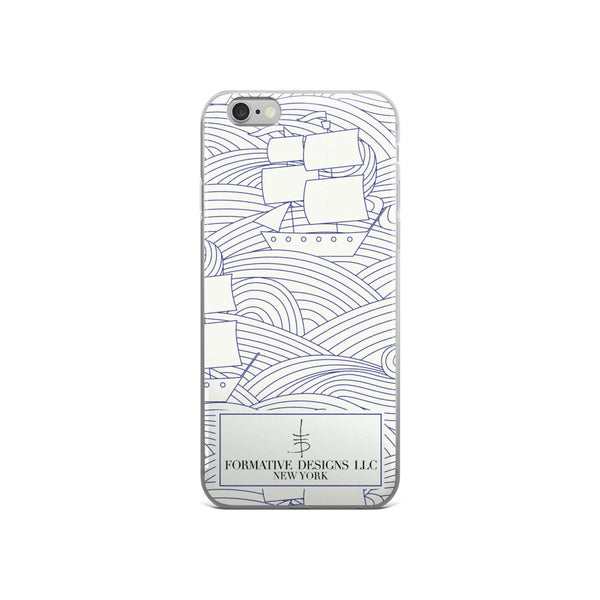 Come Sail Away with Me iPhone case