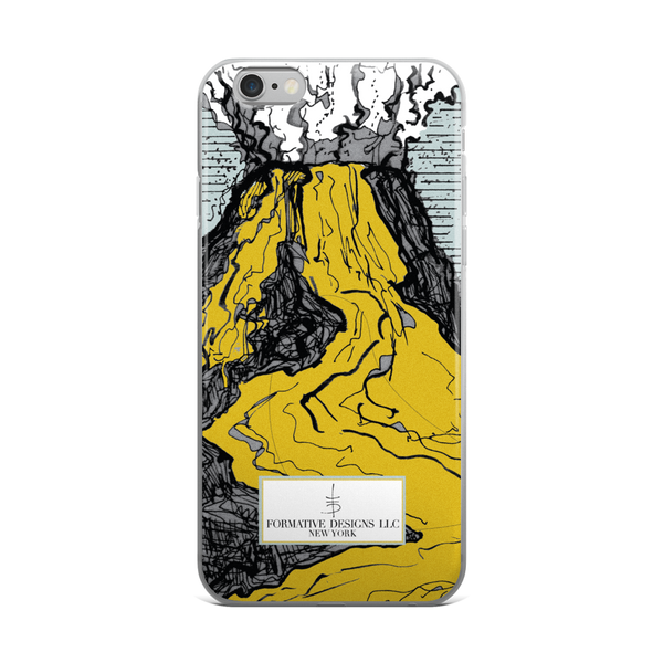 Pele Mountain iPhone Case