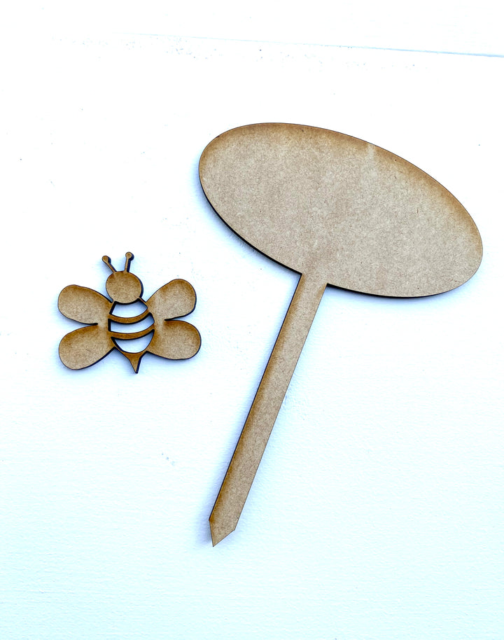 Bee Pick Cut Out