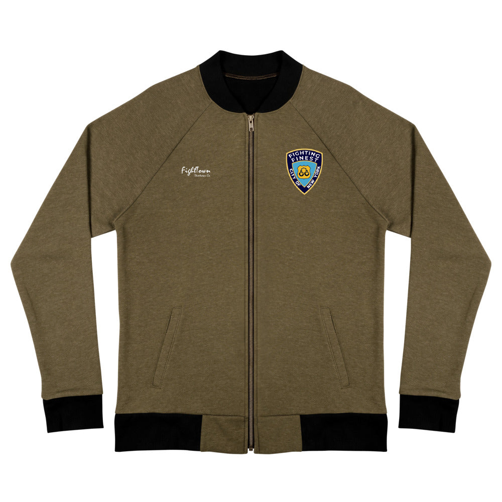 Zip-Up Bomber Track Jacket - NYPD