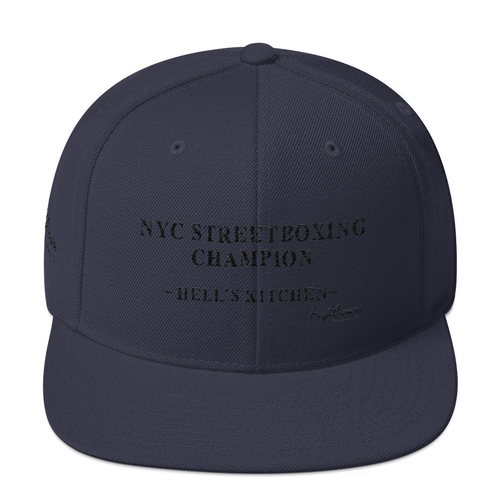 Snapback Hat - NYC StreetBoxing Champion