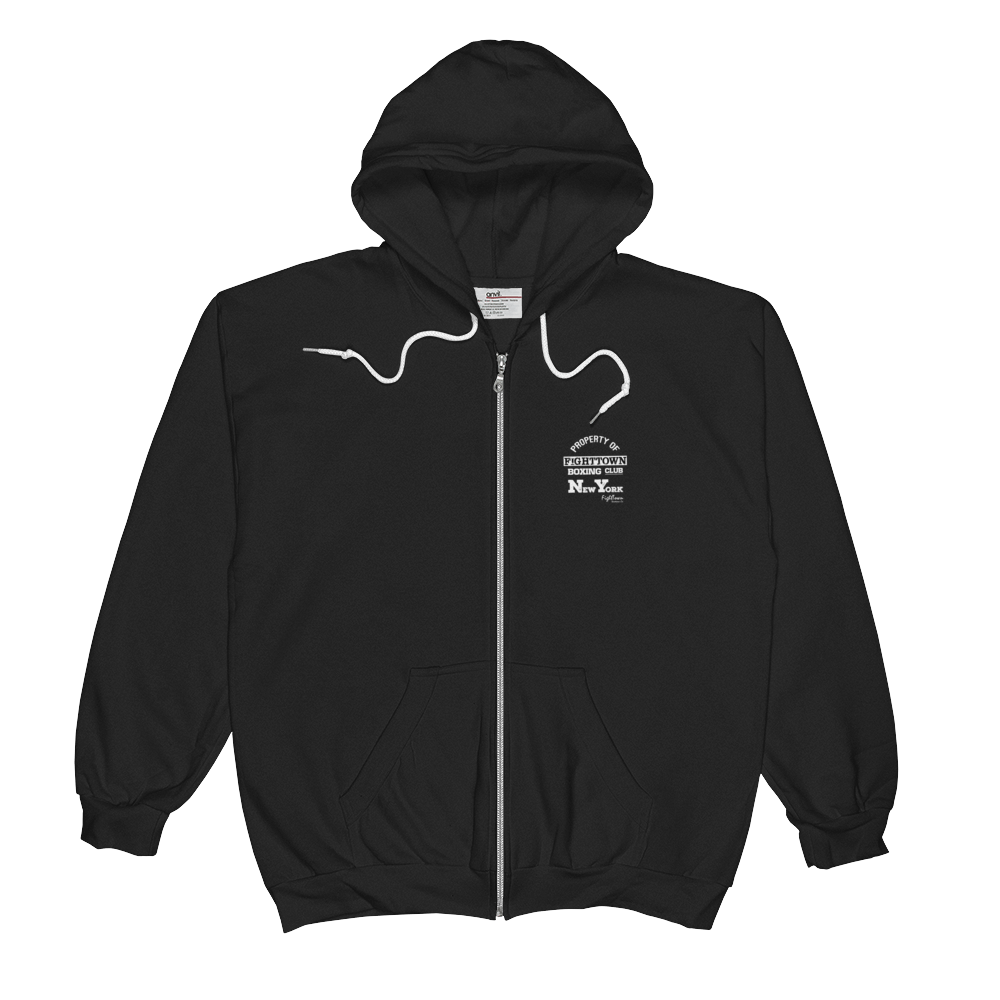 Zip-Up Hoodie - Property of FightTown