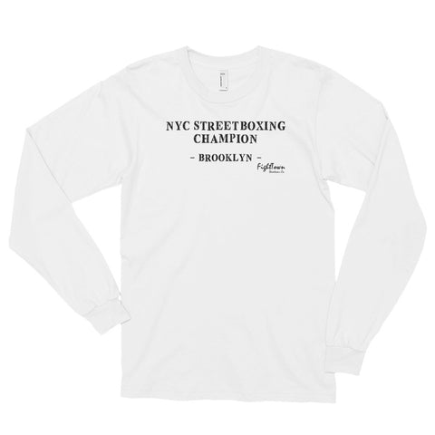 Long Sleeve T-Shirt - Heavyweight Champion