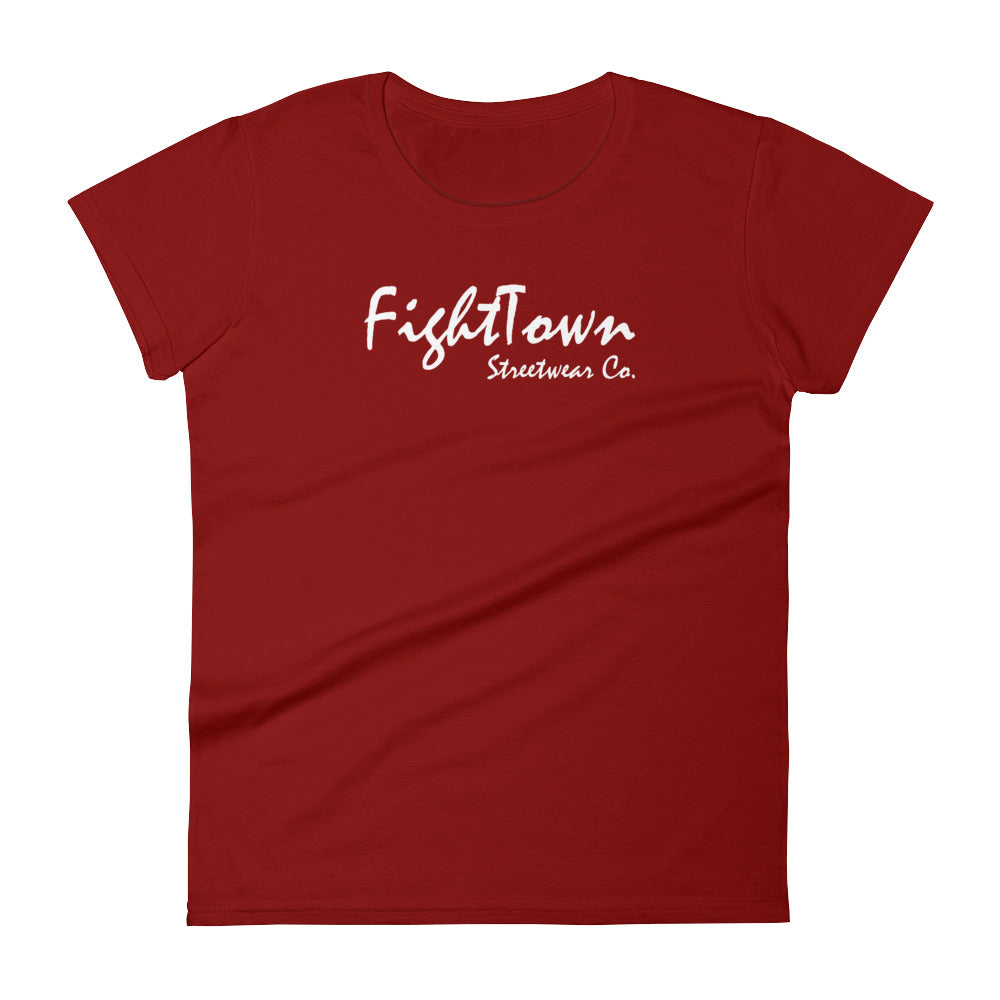 Independence Red Boyfriend Tee - FightTown