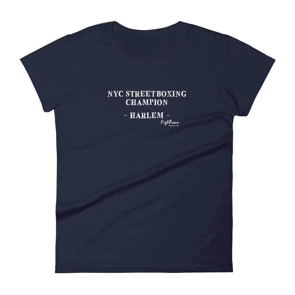 Boyfriend Tee - NYC StreetBoxing Champion