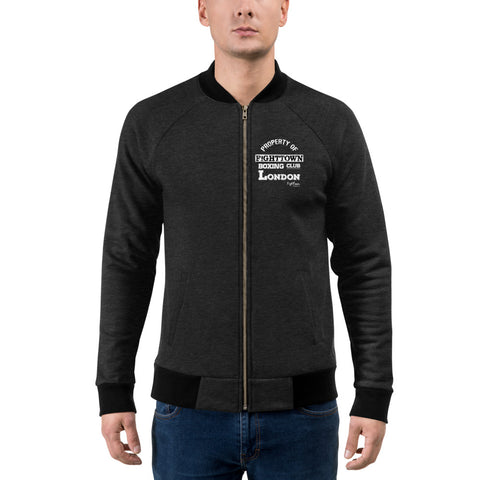 Zip-Up Bomber Track Jacket - Official Training Camp