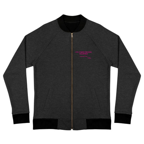 Champette Bomber Track Jacket - NYC StreetBoxing Champion (Five Points)