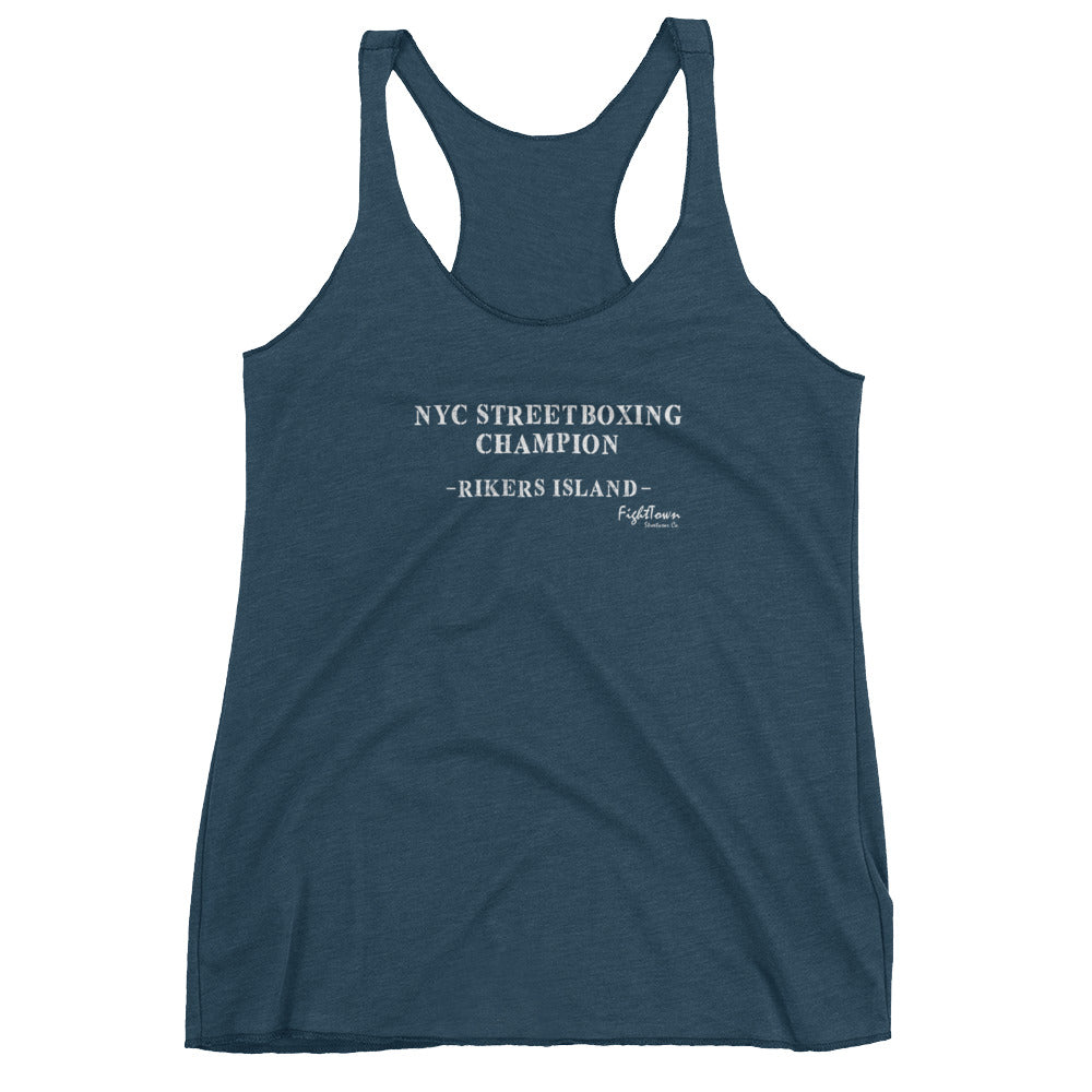 Racerback Tank - NYC StreetBoxing Champion