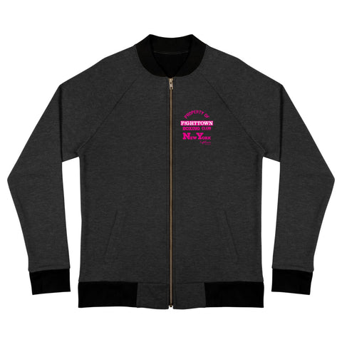 Champette Bomber Track Jacket - NYC StreetBoxing Champion (Alphabet City)
