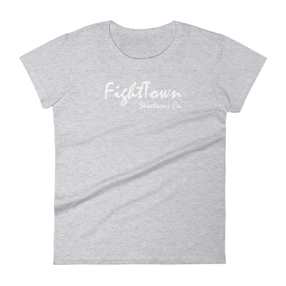 Heather Grey Boyfriend Tee - FightTown