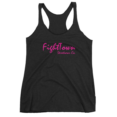 Racerback Tank - FightTown University