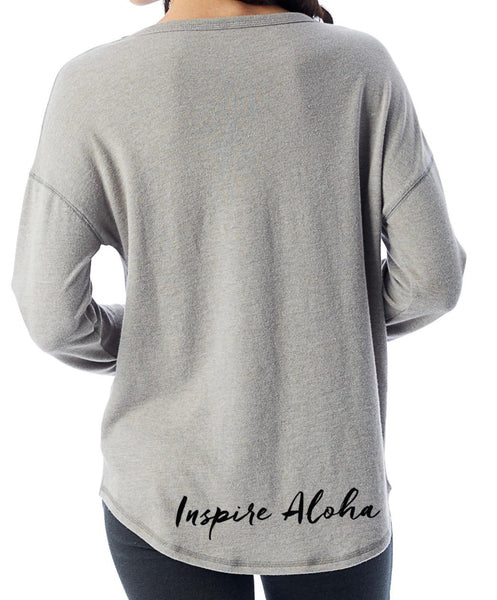 NEW! Dropped Shoulder Vintage Knit Pullover
