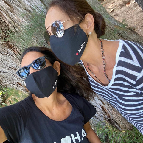 NEW! ALOHA Face Masks - SOLD OUT