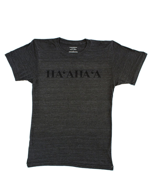 HAʻAHAʻA gray men's tee