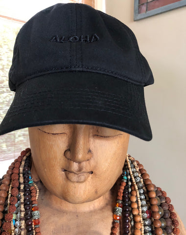 NEW! ALOHA dad hat  (Sold out in Brown)