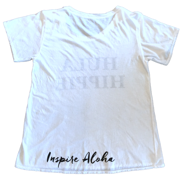 HULA HIPPIE white T shirt