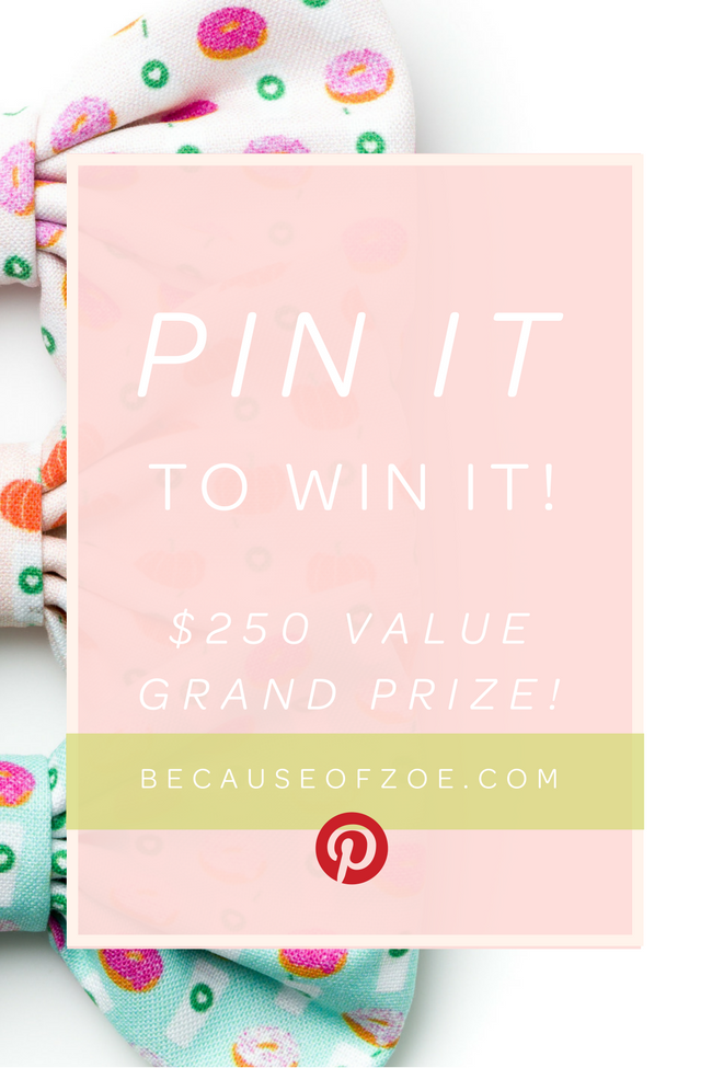 Pin it To Win it Giveaway Challenge 🎉