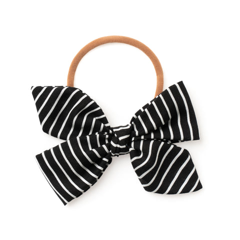 BLACK & WHITE STRIPE CAROUSEL