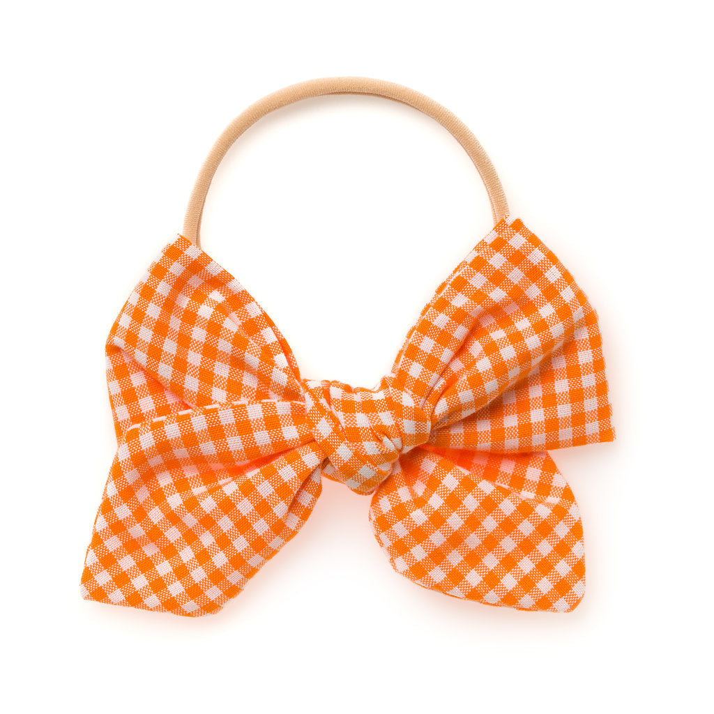 ORANGE GINGHAM | MARY JANE