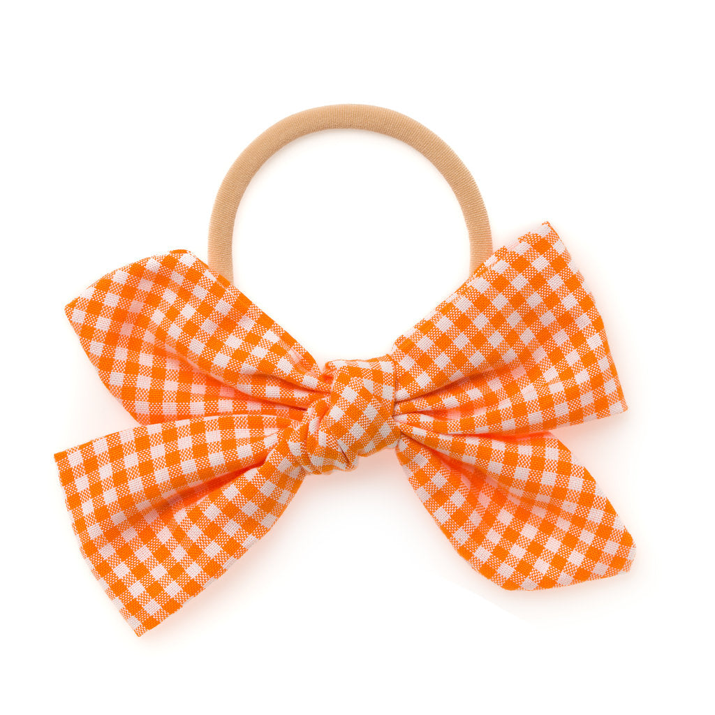 ORANGE GINGHAM | CAROUSEL
