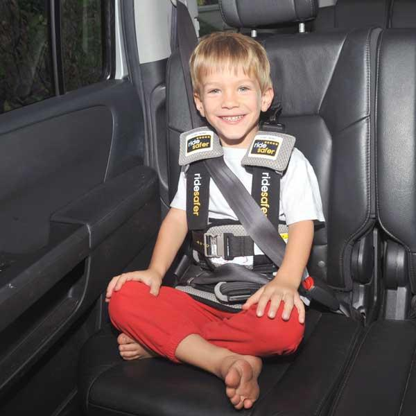 140b438eb Safe Ride 4 Kids - RideSafer Delight Travel Vest - Wonderful and Wild