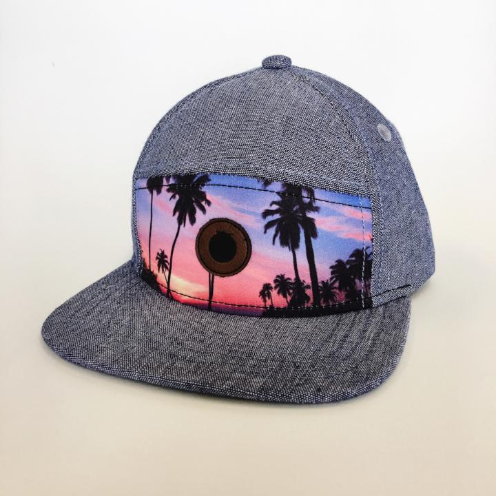 6d3c72bc209 The Blueberry Hill - Sunset Boulevard Snapback - Wonderful and Wild