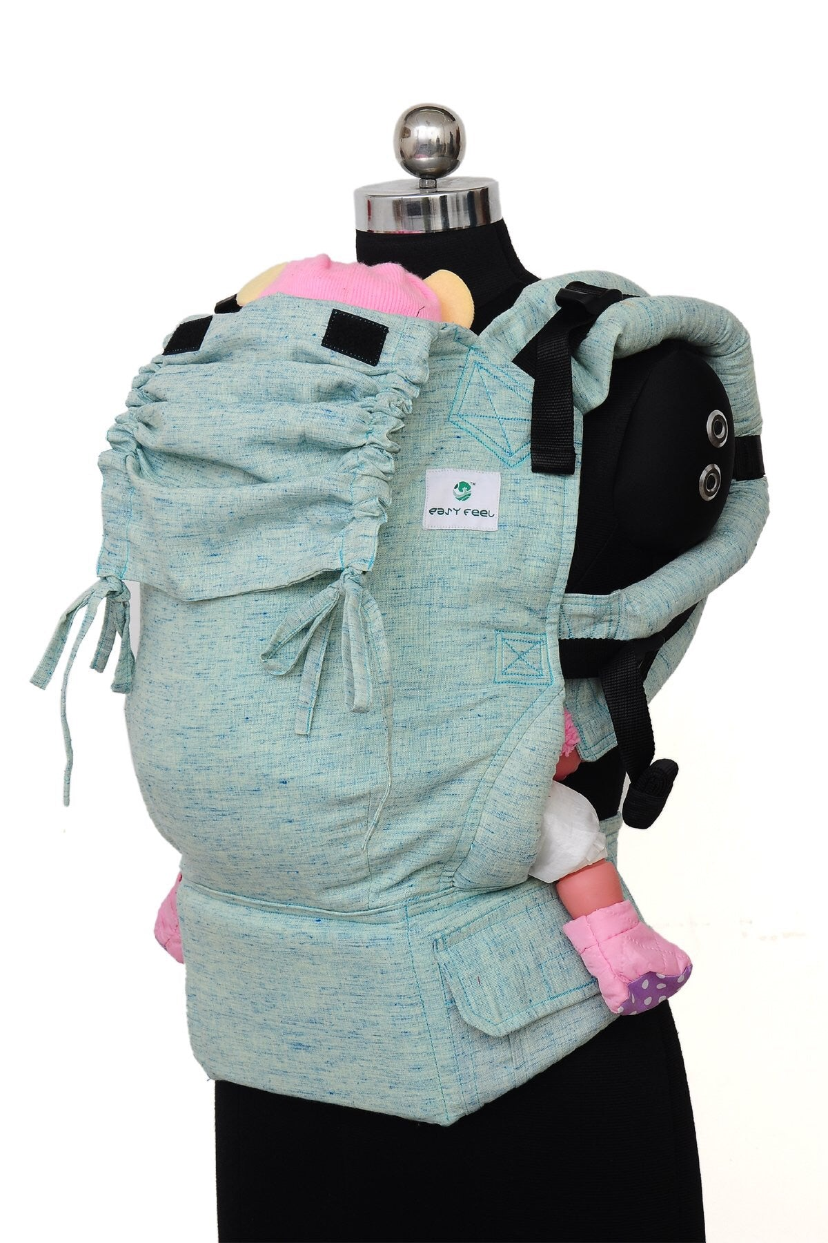 08d8d381f41 Easy Feel - Full Buckle Ergonomic Soft Structured Carrier (Preschool Size)  - Ocean