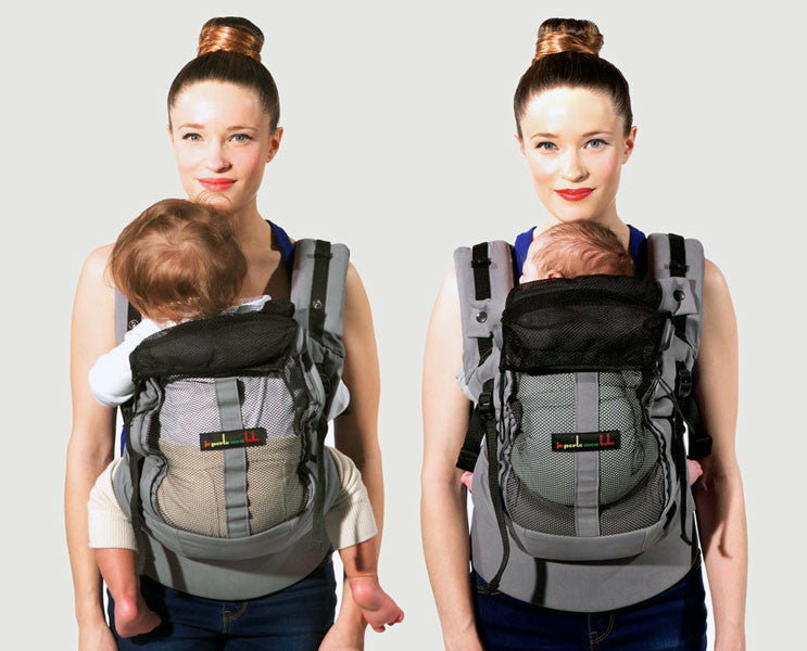 Je Porte Mon Bebe PhysioCarrier Wonderful And Wild - Porte bebe physiocarrier