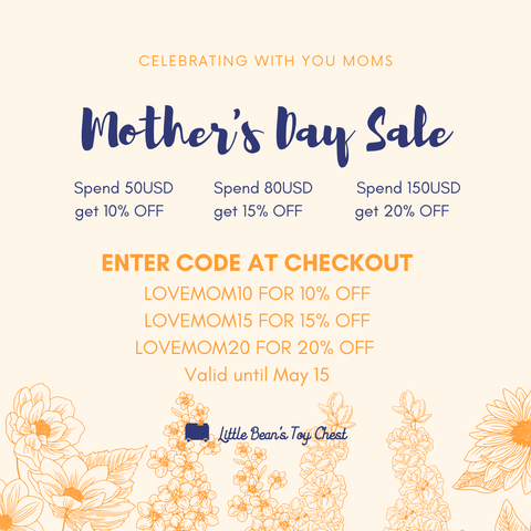 OUR MOTHER'S DAY SALE - MAY 2021