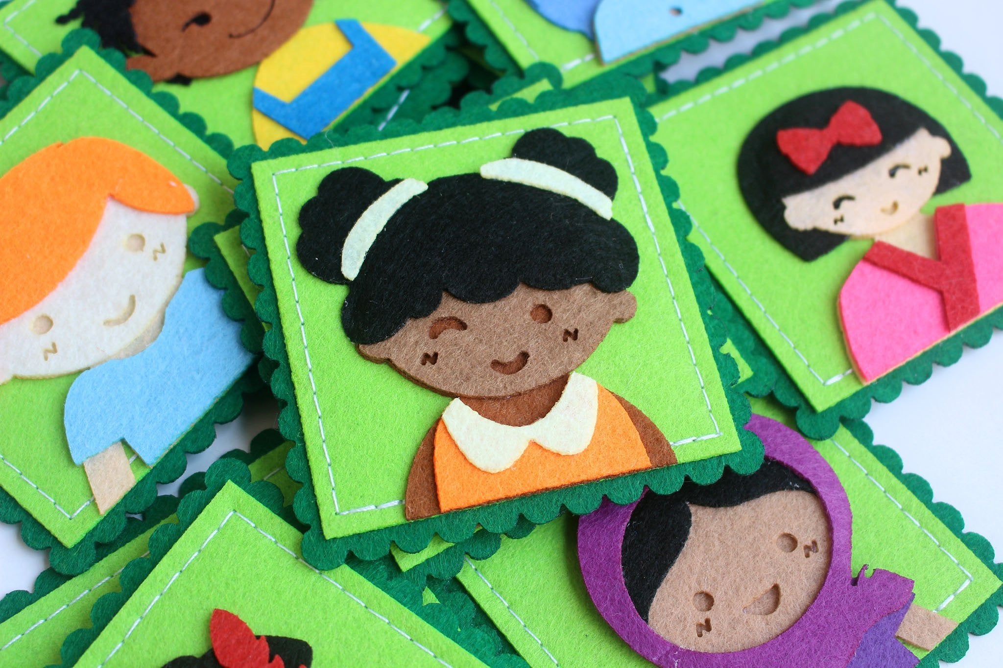 Beautiful Faces - A Multicultural Matching Game