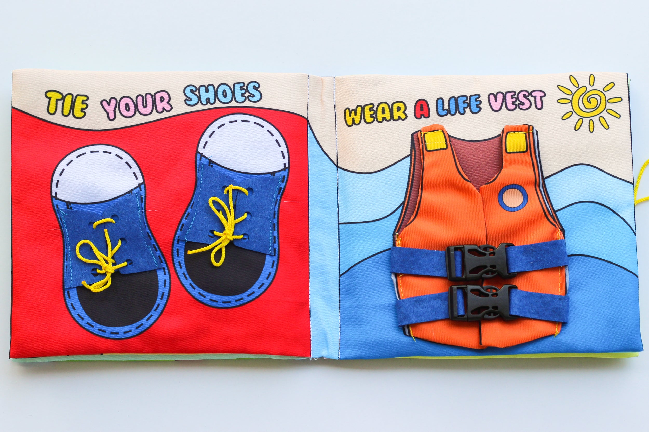 FUN LEARN DISCOVER... - Fabric Book (Age 2+).