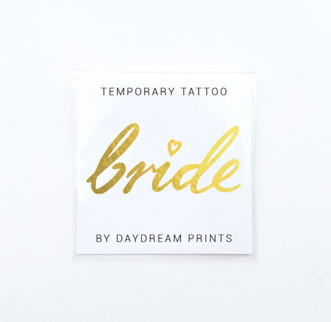 Tattoo - Bride