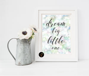 FREE Product - Dream Big Little One