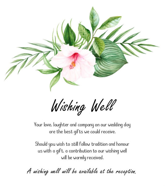 Tropical Beauty Invitation Set