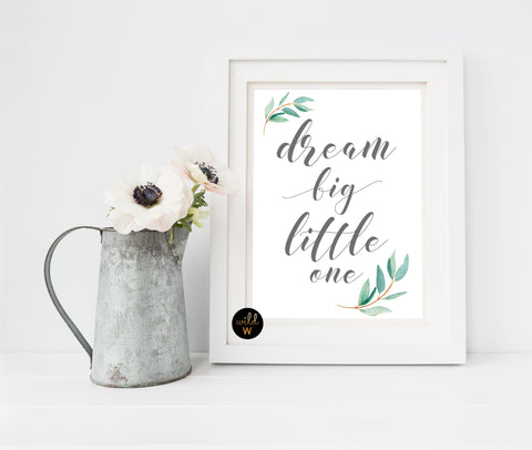 FREE Product - Dream Big Little One 3
