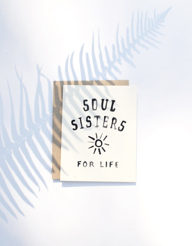 Greeting Card - Soul Sister