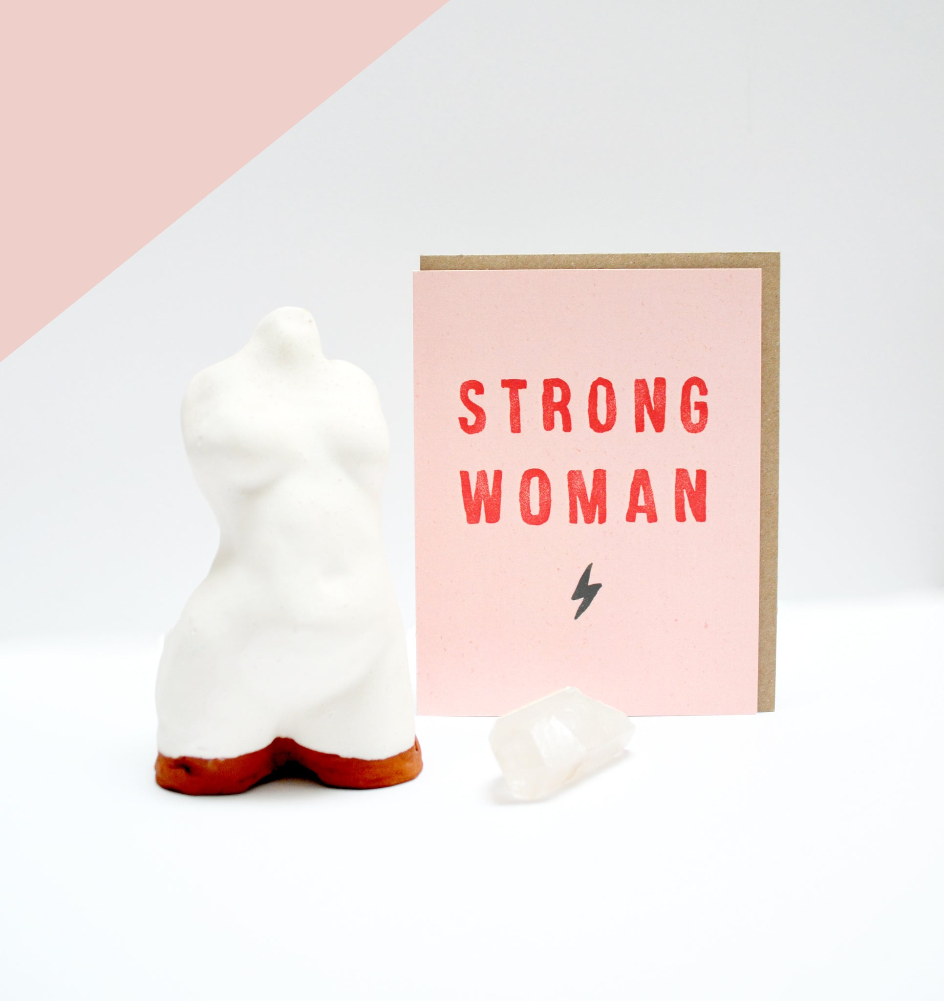Greeting Card - Strong Woman