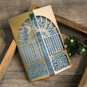 Door To Happiness Laser Cut Invitation