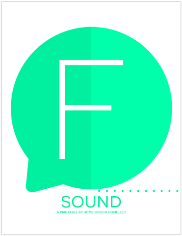 f sound printable flashcards homespeechhome