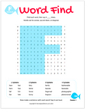 F Word Search