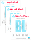 L & L Blend Word Search